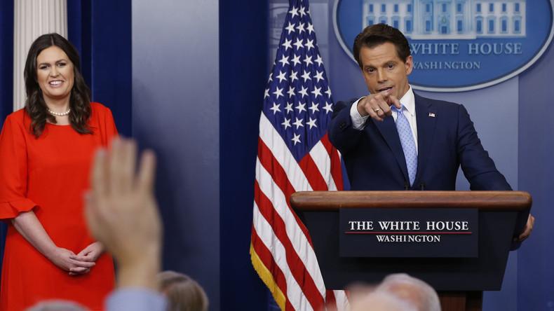 USA: Kommunikationsdirektor droht, alle zu entlassen, wenn Leaks aus dem Weißen Haus nicht aufhören