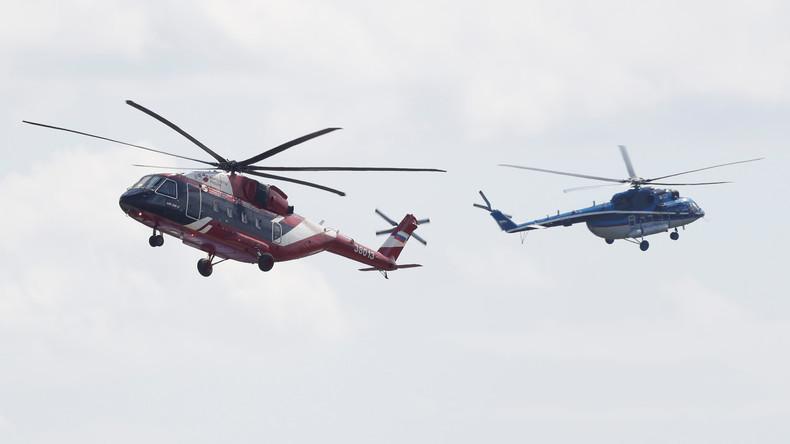 MAKS 2017: Russland verkauft Transporthubschrauber nach China
