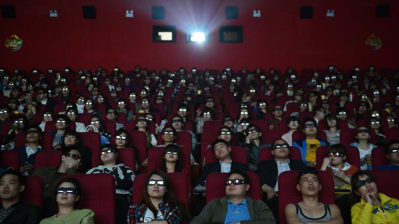 Chinesisches Insel-Kino in politisch unruhigen Gewässern im Südchinesischen Meer