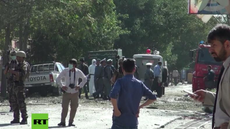 Terroranschlag in Afghanistans Hauptstadt: Mindestens 24 Tote und über 40 Verletzte