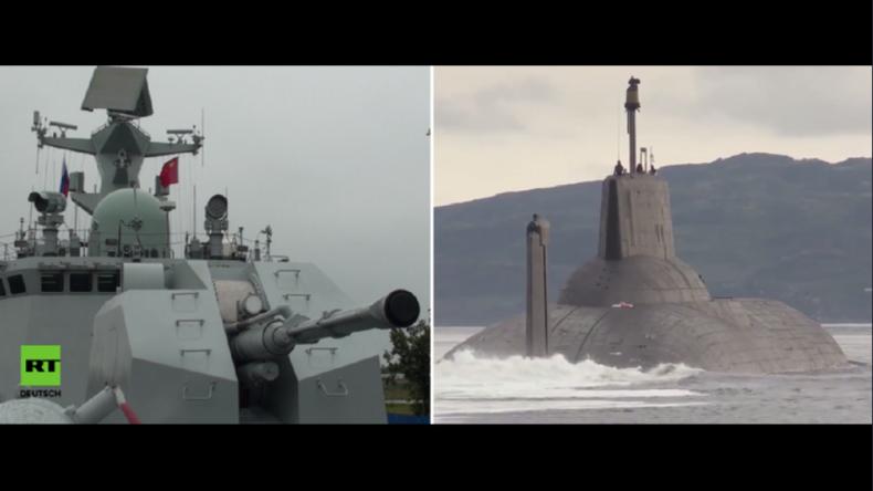 Ostsee: Chinesische Kriegsschiffe und weltgrößtes Atom-U-Boot aus Russland sorgen für Aufsehen