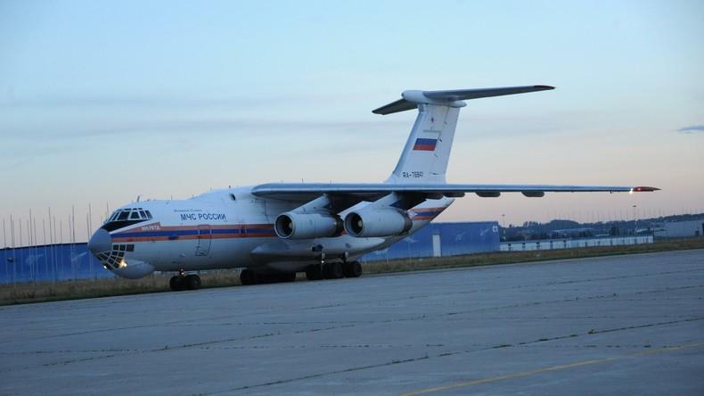 Russland liefert über 23 Tonnen Hilfsgüter in den Jemen