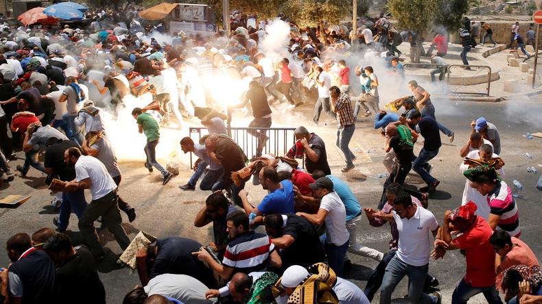 Eskalation des Konflikts am Tempelberg:  Krise nimmt internationales Ausmaß an
