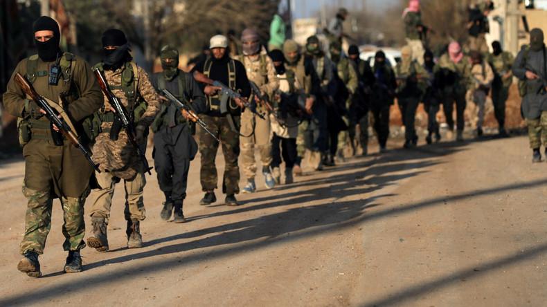 CIA-Programm zur Förderung des Terrors in Syrien: Offiziell Hunderttausend Tote und Verletzte