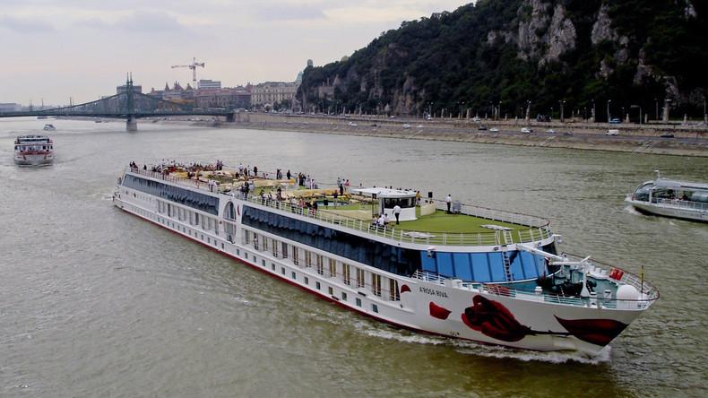 Brand an Bord: 190 Passagiere von Donauschiff gerettet