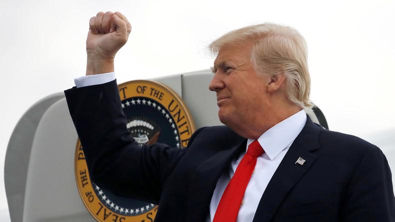 Donald Trumps Zeichnung steht zur Versteigerung - Mindestgebot: 9.000 US-Dollar