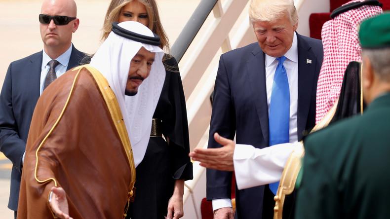 US-Medien verbreiten Gerüchte über Saudis, um Golf-Blockade zu durchbrechen