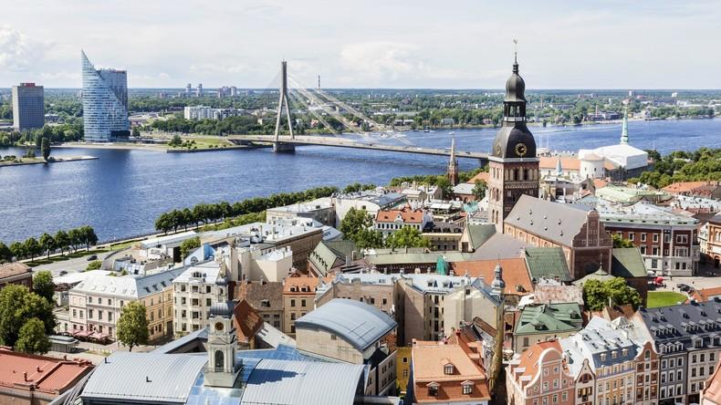 Drohnenflug über Verteidigungsministerium in Riga: Russe festgenommen