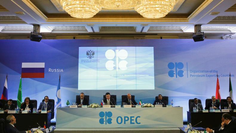 Opec-Treffen in Sankt Petersburg: Förderbegrenzung scheitert an USA