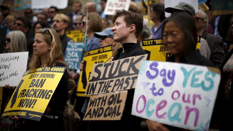 Dreist wie ein US-Politiker: Russen sollen Schuld an Umweltprotesten in USA tragen