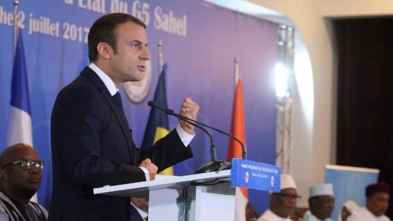 Live: Macron hält Pressekonferenz im Anschluss an Treffen mit Libyens Sarraj und Haftar