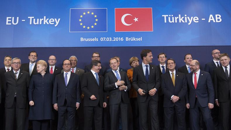 Mit Maßnahmen Mit Maßnahmen gegen die Türkei riskiert Deutschland die Auflösung des Flüchtlingsdeals