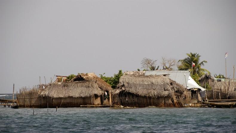 Insel-Untergang vor Panama droht: Bewohner bitten um Umzug