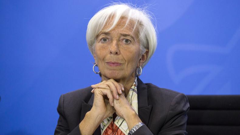 Chefin des Internationalen Währungsfonds Christine Lagarde: IWF zieht vielleicht nach China um