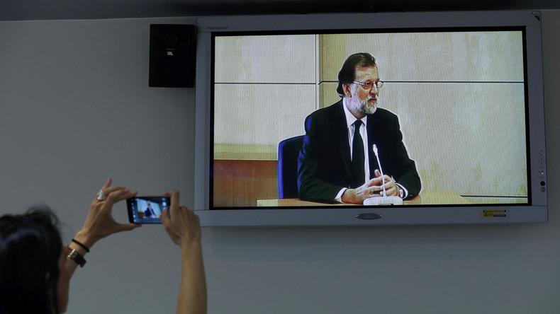 Korruptionsskandal in Spanien: Regierungschef Rajoy im Zeugenstand