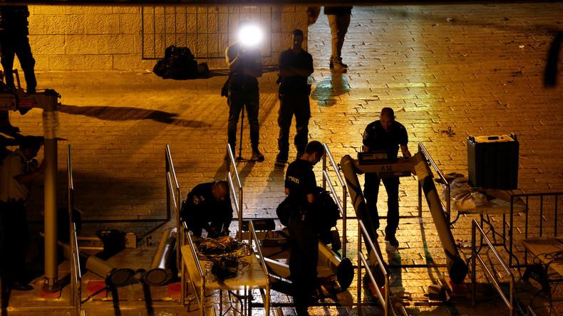Krise zwischen Israel und Palästina: Überwachungskameras ersetzen Metalldetektoren am Tempelberg