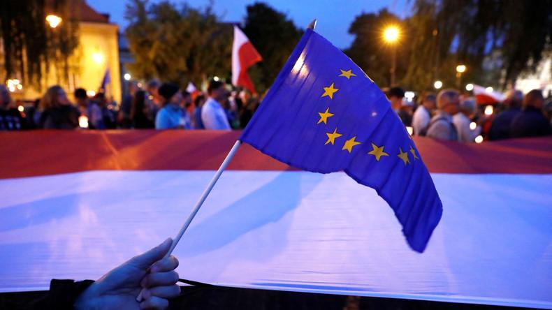 EU-Komission warnt Polen vor Justizreform und droht, dem Land das EU-Wahlrecht zu entziehen