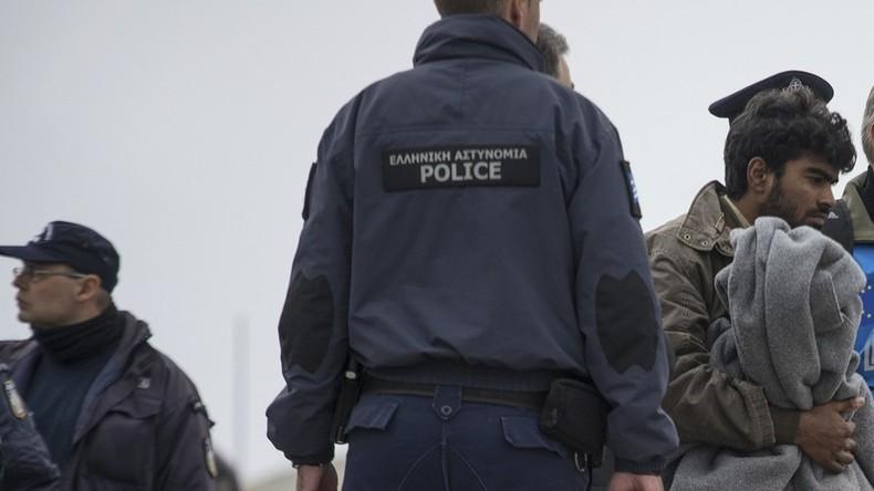 Menschenrechtler prangern Polizeigewalt auf Lesbos an