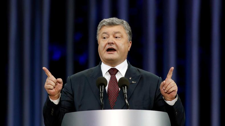 Gericht verpflichtet ukrainischen Geheimdienst, Strafverfahren gegen Poroschenko einzuleiten