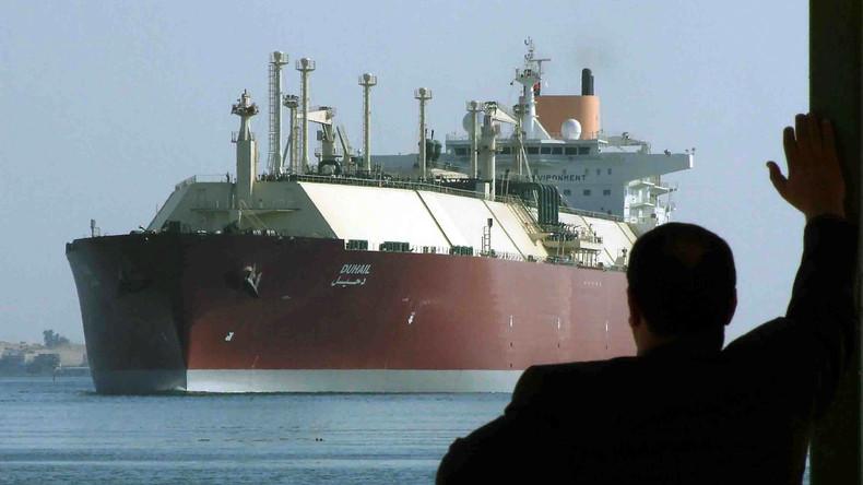 Im Windschatten neuer Russland-Sanktionen: US-Frachter mit Fracking-Gas erreichen Großbritannien