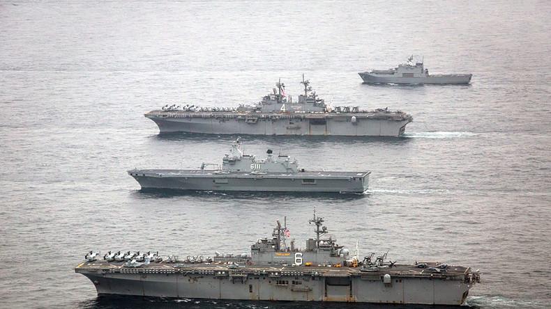 US-Marine feuert Warnschüsse auf iranisches Schiff
