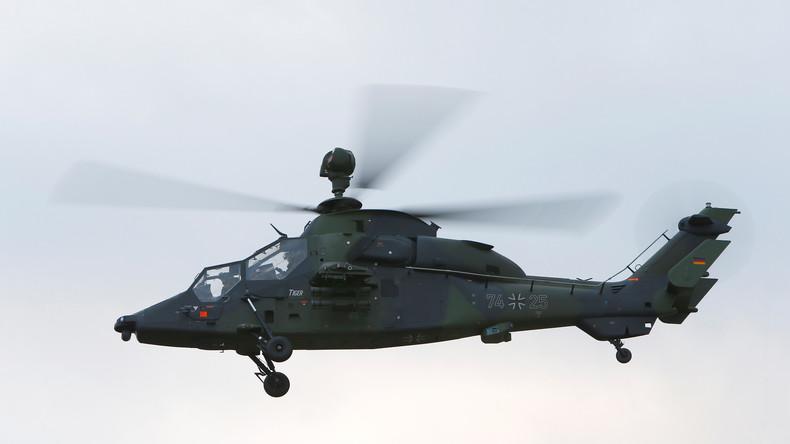 Kampfhubschrauber der Bundeswehr stürzt in Mali ab- keine Angaben über Tote oder Verletzte