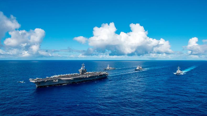 US-Kriegsmarine erklärt sich zum Atomschlag gegen China auf ersten Befehl bereit