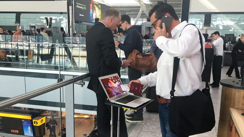 USA verschärfen Kontrollen elektronischer Geräte an Flughäfen