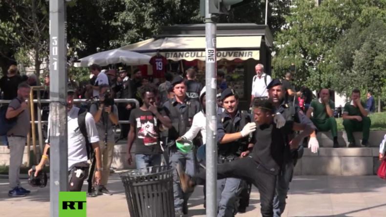 Mailand: 36 Festnahmen am Hauptbahnhof wegen Drogen-Dealerei und Kriminalität