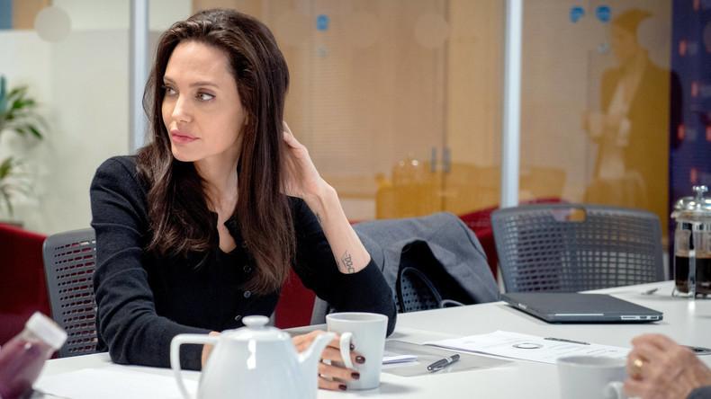 Angelina Jolie hatte Lähmungserscheinungen nach Trennung von Brad Pitt