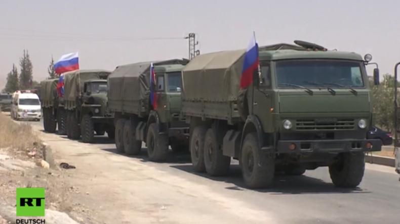 Syrien: Russland liefert Assad-Gegnern humanitäre Hilfe nach Deeskalationsvereinbarung