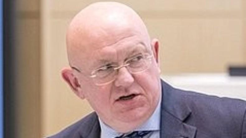 Russischer stellvertretender Außenminister Nebensja wird Russlands ständiger Vertreter bei UNO