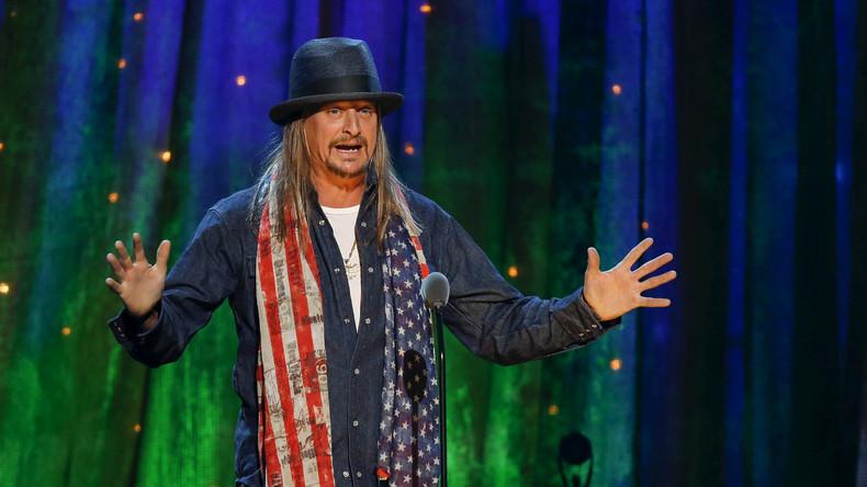 """US-Sänger Kid Rock will in die Politik: """"Ich habe kein Problem, meine Shirts zu verkaufen"""""""