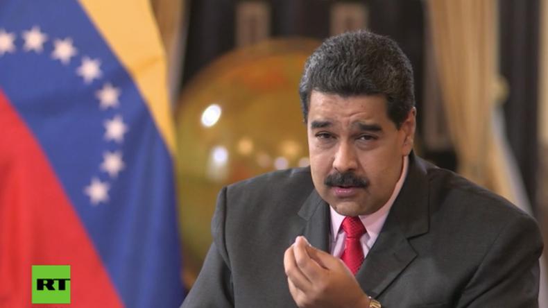 """Venezuelas Präsident Maduro im RT-Interview: """"Mr. Trump stoppen Sie die Angriffe gegen unser Land!"""""""