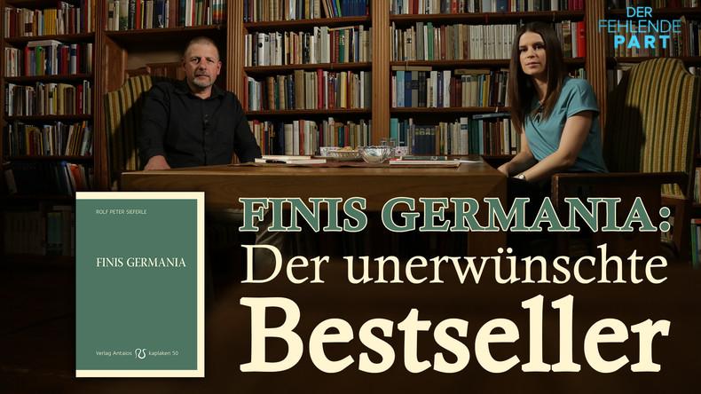 Götz Kubitschek zu seinem unerwünschten Bestseller 'Finis Germania'
