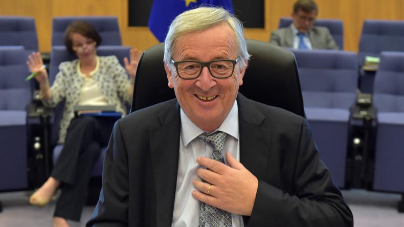 EU-Kommissionspräsident Juncker verwechselt Bundeskanzlerin Merkel mit seiner Frau [VIDEO]