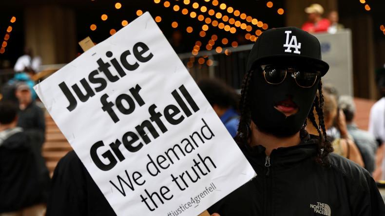 Nach Großbrand im Grenfell Tower: Polizei beschuldigt Unternehmen und Bezirksrat fahrlässiger Tötung