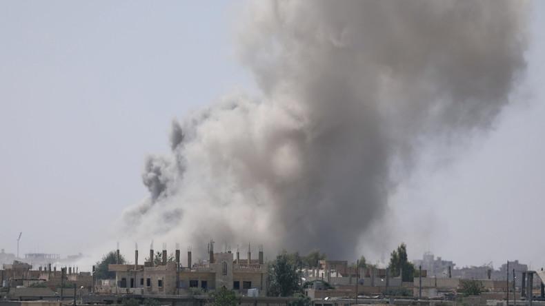 IS-Hauptstadt Rakka: USA führen Krieg gegen Zivilbevölkerung