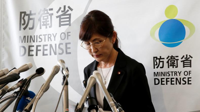 Vertuschungsskandal in Japan: Verteidigungsministerin tritt zurück