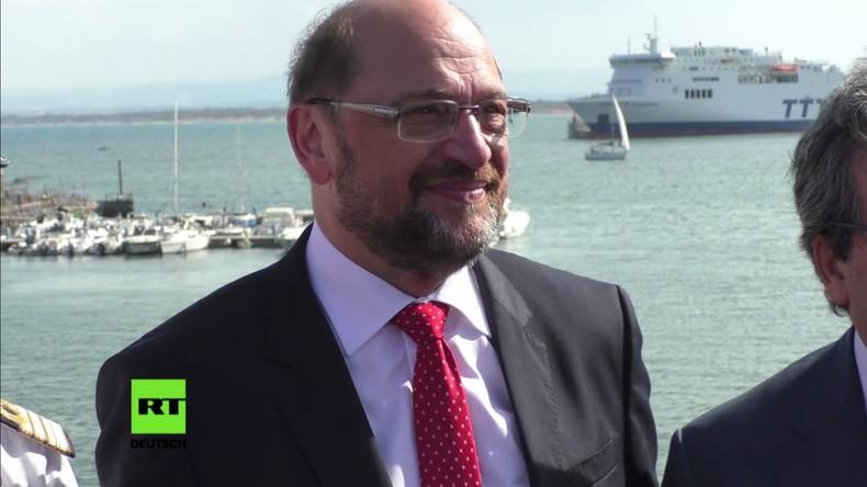 Italien: Schulz besucht Migrantenzentrum und fordert EU-Solidarität bei Flüchtlingspolitik