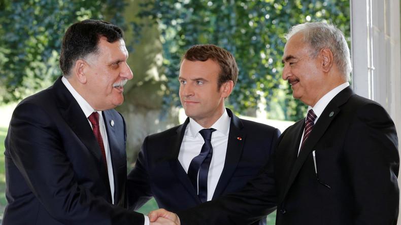 Katerstimmung bei Macron: Doch keine Flüchtlingshotspots in Libyen
