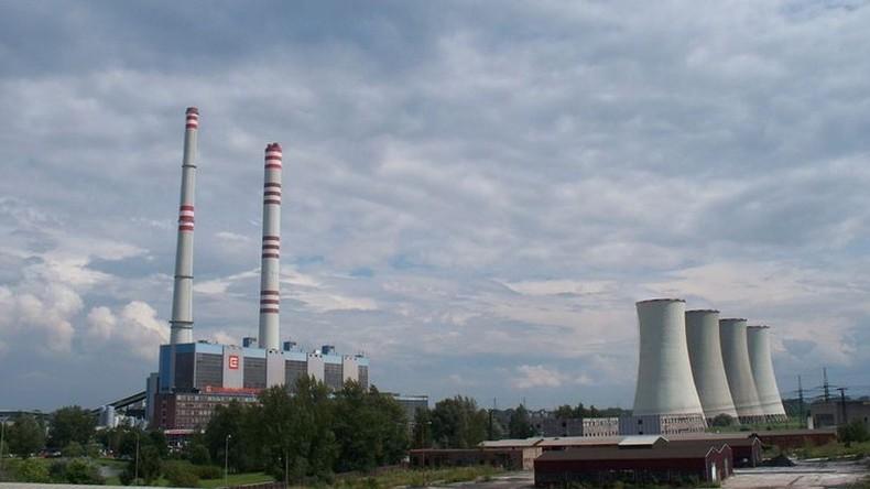 Brand in tschechischem Kohlekraftwerk