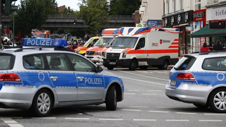 Polizei durchsucht Hamburger Flüchtlingsheim nach Messerattacke