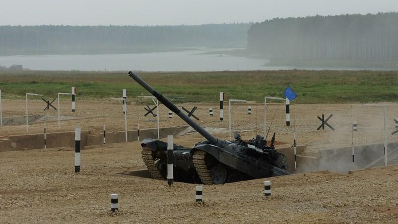 Internationale Militärische Spiele starten auf Übungsplatz Alabino bei Moskau