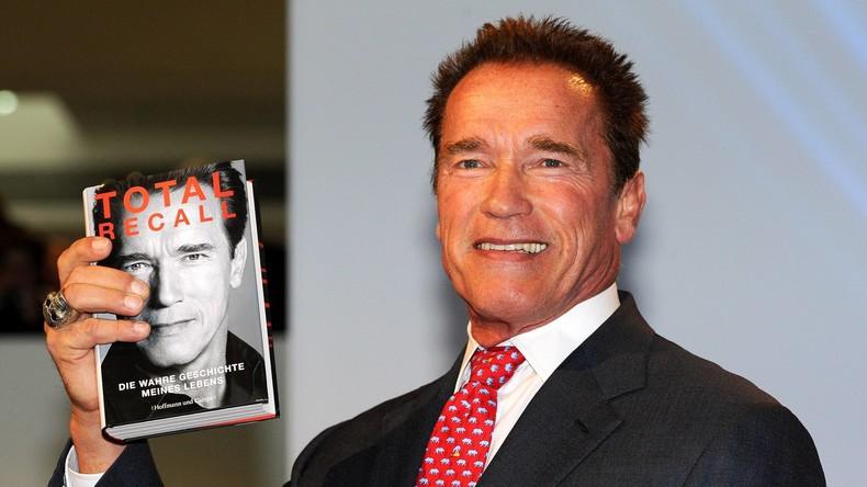 Arnold Schwarzenegger rät Donald Trump, mehr zu lesen