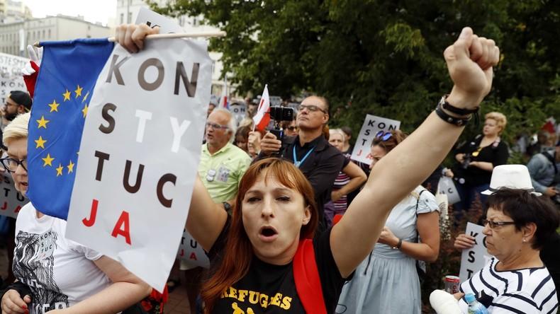 EU leitet Vertragsverletzungsverfahren gegen Polen ein