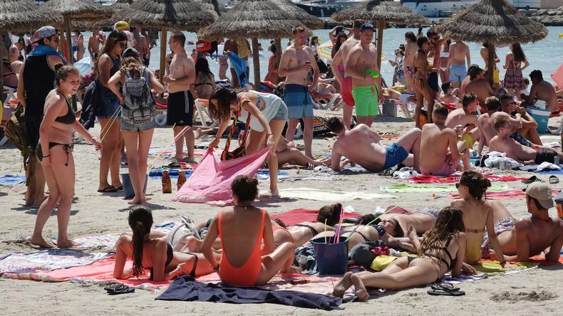 """Mallorca: Einheimische """"schließen"""" aus Protest gegen Massentourismus Ministerium"""