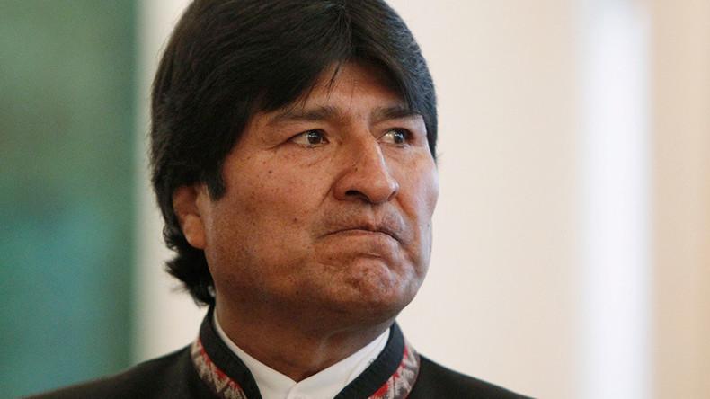 """Nach Anti-Russland-Sanktionen: Präsident von Bolivien nennt USA """"Gefahr für Völkerrecht"""""""