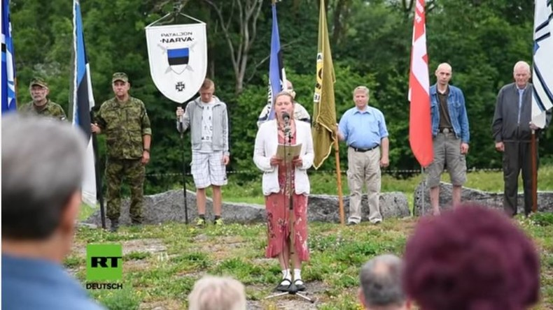 Waffen-SS-Veteranen aus Estland gedenken Schlacht von Tannenberg gegen Sowjetunion