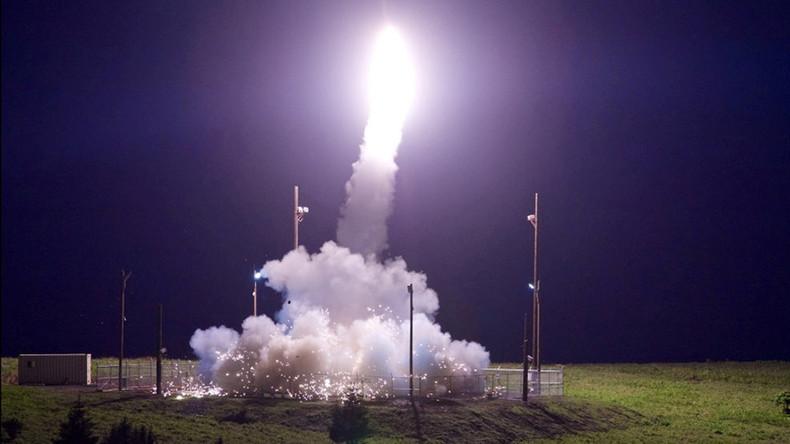 """USA simulieren Raketen-Angriff: THAAD-Raketenschild """"erfolgreich"""" im Pazifischen Ozean getestet"""